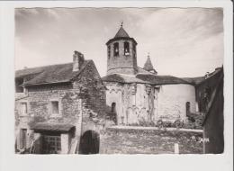 CPSM Grand Format - ISPAGNAC - Gorges Du Tarn - Eglise Romane - Autres Communes