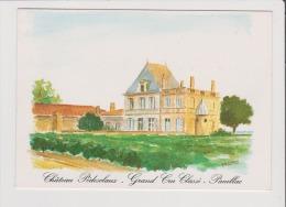 Dépliant Souple - Chateau Pedesclaux - Grand Cru Classe - PAUILLAC - Pauillac