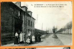 MBS-13  Le Bourget, Ferme Ayant Subi Le Premier Choc De L'Armée Allemand En 1870 - Guerres - Autres