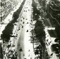 France WWI Avenue Des Champs Elysees Fetes De La Victoire Ancienne Photo SIP 1919 - War, Military