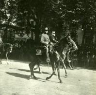 France WWI Fetes De La Victoire Marechal Joffre Et Foch Ancienne Photo SIP 1919 - War, Military