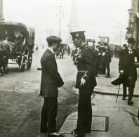 WWI Recrutement A Londres Avant Le Service Obligatoire Ancienne Photo SIP 1914-1918 - Guerra, Militari