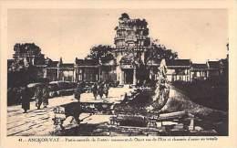 ASIE Asia - CAMBODGE Cambodia - ANGKOR VAT - Entrée Monumentale Ouest  ... Kambodscha Cambodgia Cambodja - Cambodia