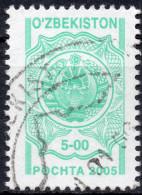 UZBEKISTAN 2005 - SERIE ORDINARIA - 1 VALORE USATO - Uzbekistan