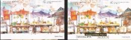 B)1998  MACAO, LIFESTYLE, MONEYCHANGERS, FRIENDSHIP CHINESE LUSO, FRUIT MARKET, MARKET, PEOPLE,  FOOD, GOLD OVENPRINT - 1999-... Chinese Admnistrative Region