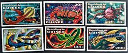 GUINEA  GUINEE   451/56    ** New -- - Viñetas De Fantasía