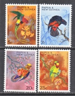 PAPUA  NEW  GUINEA  249-52  **  PARROTS - Parrots