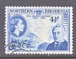 NORTHERN  RHODESIA  57  (o) - Northern Rhodesia (...-1963)