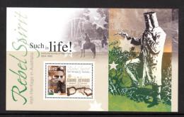 """IRLANDE 2001 : BF Neuf ** MNH (Mini-sheet MNH Postfris **) """" NED KELLY """". - Blocks & Kleinbögen"""