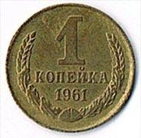 USSR 1961 1 Kopek - Russia