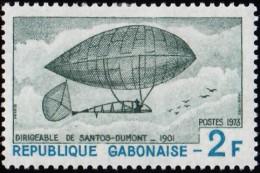 GABON - Scott #312 History Of Flight / Mint LH Stamp - Gabun (1960-...)