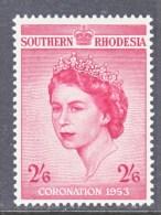 SOUTHERN RHODESIA  80  *  CORONATION - Southern Rhodesia (...-1964)
