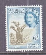 SOUTHERN RHODESIA  87  *    BAOBAB  TREE - Southern Rhodesia (...-1964)