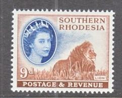 SOUTHERN RHODESIA  88  *    FAUNA  LION - Southern Rhodesia (...-1964)