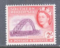 SOUTHERN RHODESIA  90  *    BRIDGE - Southern Rhodesia (...-1964)