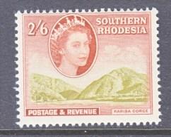 SOUTHERN RHODESIA  91  *    GORGE - Southern Rhodesia (...-1964)