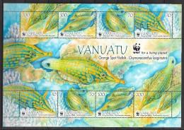 Vanuatu 2013 Fishes WWF  Msh  MNH** - W.W.F.