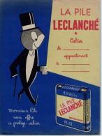 Protège Cahier - La Pile LECLANCHE - Buvards, Protège-cahiers Illustrés