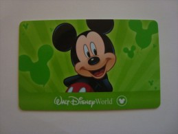 USA - WALT DISNEY WORLD - CARD - Other Collections