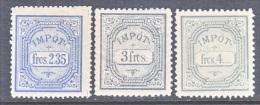 FRENCH  MOROCCO  IMPOT  REVENUE    * - Morocco (1891-1956)