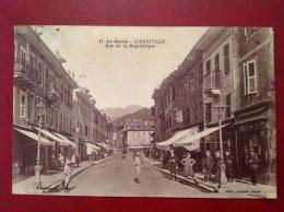 73 Savoie Cpa ALBERTVILLE Rue De La République (Hotel Million) - Albertville