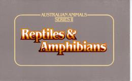 """AUSTRALIE : Pack De Présentation """" REPTILES ET AMPHIBIENS """". Neuf ** MNH. Parfait état. - Non Classés"""