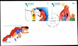 Cuba Habana 1983 / 9th Panamerican Sport Games / Volleyball,  Basketball - Basketball