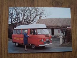 51082 POSTCARD: POSTAL SERVICES: Postbus Service 104: (Reg No NSB 493R) THE FORMER SHANNOCHIE POST OFFICE ISLE OF ARRAN. - Postal Services