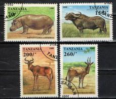 TANZANIA - 1994 - ANIMALI AFRICANI - ANIMALS - USATI - Tanzania (1964-...)