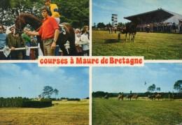 Course à Maure-de-Bretagne. Hypodrome. Années 70. - France