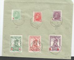 126/31  Obl Pli  FAUX  Pour Comparaison - 1914-1915 Red Cross