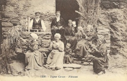 Types Corses - Fileuses - Carte N°1100 Non Circulée - Europe