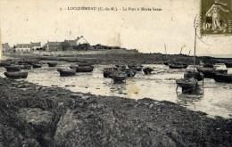 22 LOCQUEMEAU - Le Port à Marée Basse - Environs De Saint-Michel-en-Grève - Francia