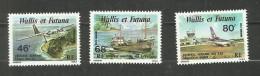 Wallis Et Futuna Poste Aérienne N°89 à 91 Neufs** Cote 6.95 Euros - Nuevos