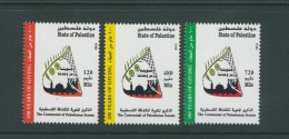Palestine 275,  Palestinian Authority, 2014, 100 Years Palestinian SCOUTS, 3 Stamps. MNH. - Palestine