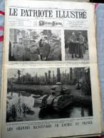 Le Patriote Illustré N°39 Du 24/09/1922 Leuze Rochefort Gand Coëtquidan Hammonia - Old Paper