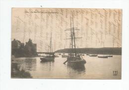 Cp , 29 , Le Port DU CONQUET , Contre Jour , Bateaux , écrite - France