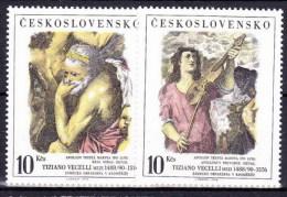 ** Tchécoslovaquie 1978 Mi 2463-4 (Yv Timbre De BF 44), MNH - Czechoslovakia