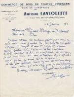 - CORREZE  - FACTURE Antoine LAVIOLETTE à BRIVE-LA-GAILLARDE - 006 - Invoices & Commercial Documents