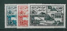 1958-Marokko-Mi 432-435 (**) - Marocco (1956-...)