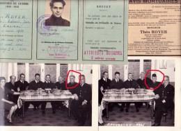 Warrimont Charneux Herve Théo ROYER Prisonnier De Guerre 40/45 Policier - Cartes