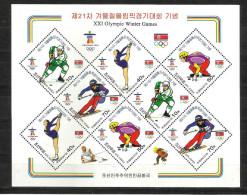 SOUTH KOREA, 2010, Winter Olympics, Vancouver, Olympic,  Sheetlet, MNH, (**)