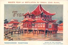 Shanghaï - Maison De Thé - Illustration - 2 SCANS - China