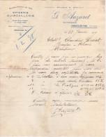86 LENCLOITRE COURRIER 1939 EPICERIE Quincaillerie G. AUZURET  - Y5 C/ Chatellerault - 1900 – 1949