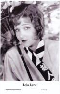 LOLA LANE - Film Star Pin Up - Publisher Swiftsure Postcards 2000 - Artiesten