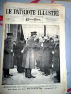 Le Patriote Illustré N°50 Du 16/12/1923 Laeken Havré Charbon Mine Léopold Grimbergem Ecaussines-Lalaing Barrès Glemo - Collections