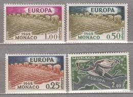 EUROPA CEPT 1962 Monaco Mi 695 - 698 MNH (**) #19705 - Monaco