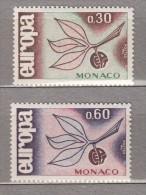 EUROPA CEPT 1965 Monaco Mi 810 - 811 MNH (**) #19708 - Monaco