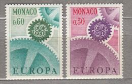 EUROPA CEPT 1967 Monaco Mi 870 - 871 MNH (**) #19710 - Monaco