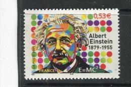 FRANCE - Y&T N° 3779** - Albert Einstein - Ungebraucht